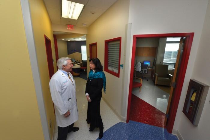 Drs. Charles Linder and Martha Tingen