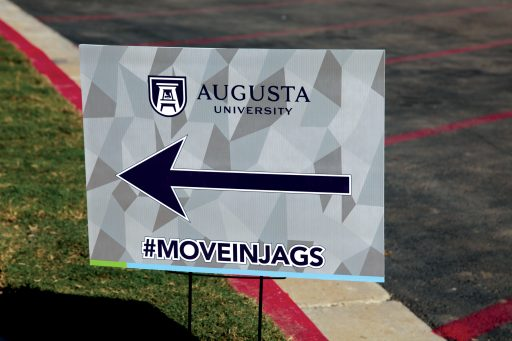Move-In sign