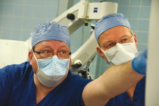 Drs. Paul M. Weinberger and Steffen Meiler