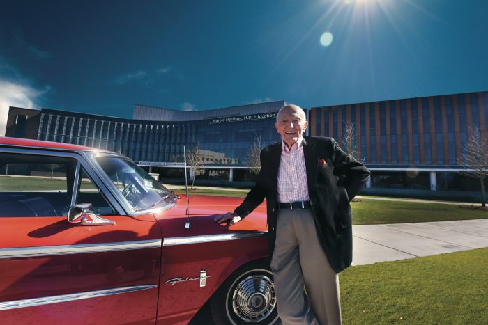 Dr. Roy Witherington and his 1963 Ford Galaxie 500/