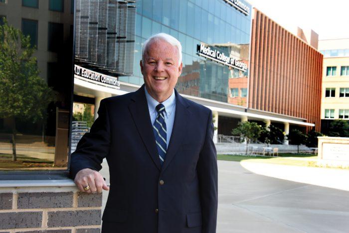 Dr. Mason Thompson, '73 President, MCG Alumni Association Associate Professor Emeritus of Family Medicine.