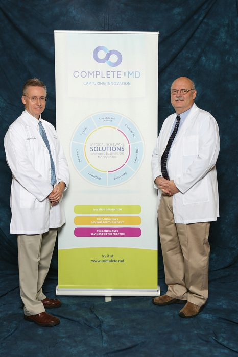Drs. Sidney Smith (left) and Patrick Godbey.