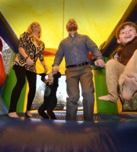 Brinsons jump in bouncy house