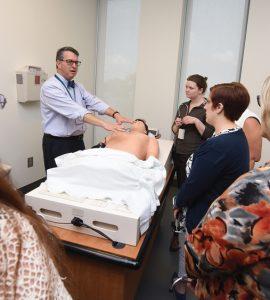 Dr. Wallach teaching