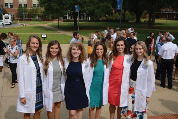 White Coat Ceremony. Photo by Blake Paulos