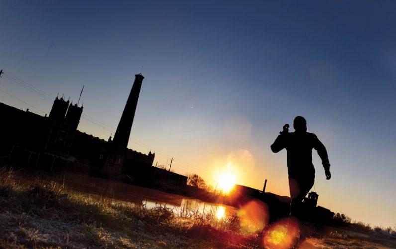 Lara Way runs along the Augusta Canal