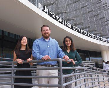 Jessie Yuan, Zach Ramsey and Sanah Aslam
