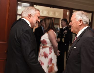 President Brooks Keel and Governor Nathan Deal