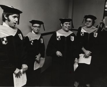 Members of the class of 1977.