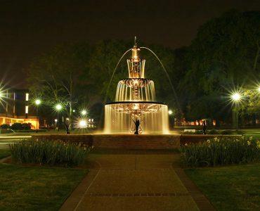 Augusta University Fountain