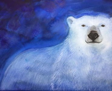 illustration of a polar bear