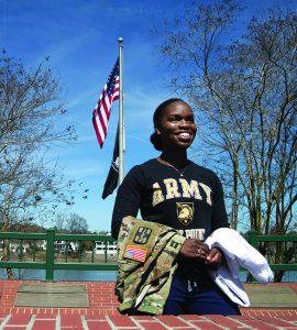 Member of army.