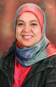 woman named Dr. Amany Tawflik smiling